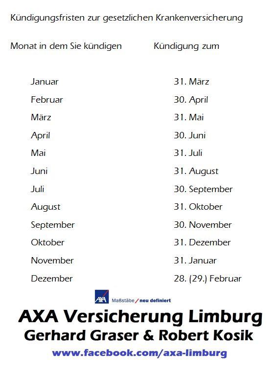 Axa Limburg Graser Kosik Ohg Gesetzliche Krankenversicherung Axa