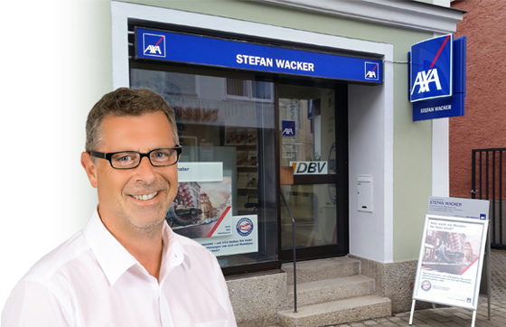 AXA Hauptvertretung Stefan Wacker aus Regensburg