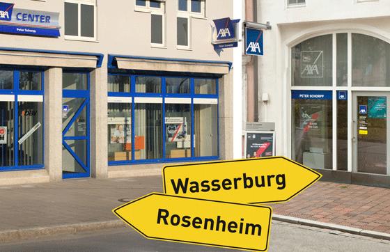 AXA Regionalvertretung Peter Schorpp aus Rosenheim