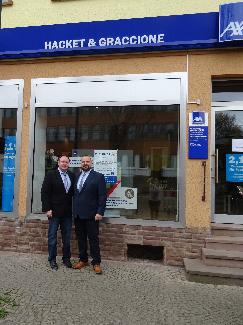 Unser neuer Standort - Andreas Hacket & Salvatore Graccione