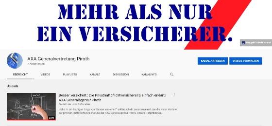 Wusstest du schon...? - Wir haben unseren eigenen Youtube-Kanal!