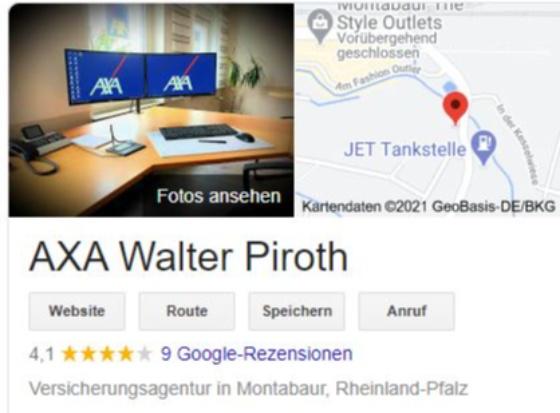 Rezensenten gesucht! - Wir freuen uns auf Deine Bewertung bei Google!