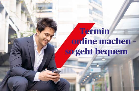 Termin online machen - Termin buchen - wann und wo es Ihnen passt