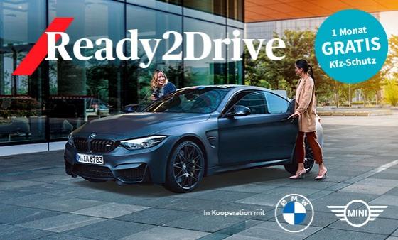 Der Gratis-Monat Kfz-Schutz von AXA - Für BMW- und MINI-Kunden