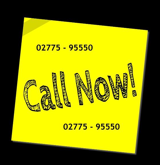 Rufen Sie uns an - Wir beraten Sie gerne