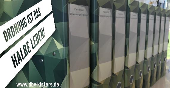 PERSÖNLICH /PERSONALANGELEGENHEIT ! - Die neuen Bundeswehrordner sind endlich angekommen.