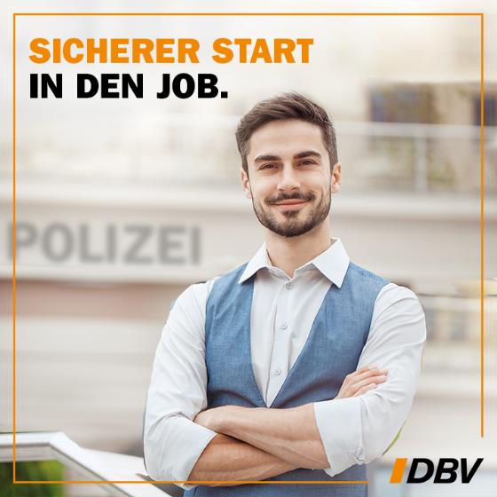 Beamte in Polizei, Justiz, Zoll und Feuerwehr - mit DBV ein sicherer Start, Anwartschaft, Beihilfe, Dienstunfähigkeit, Berufshaftpflicht .... und mehr !