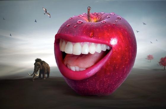 Ein schönes Lachen ist unbezahlbar, aber versicherbar !